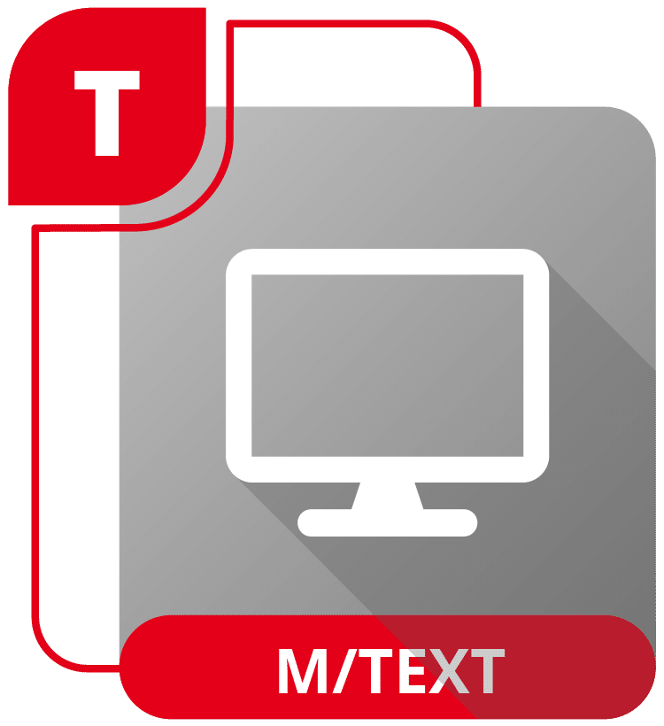 M/TEXT